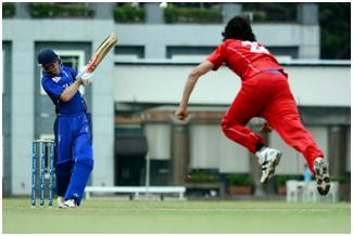 Amjad Khan bowler mod overmagten